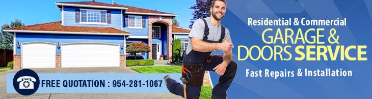 Garage door repair davie fl 954 281 1067 genie opener for Garage door opener miami fl